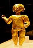 Statuetta d'oro precolombiana - I sec. a.C. / I sec. d.C.