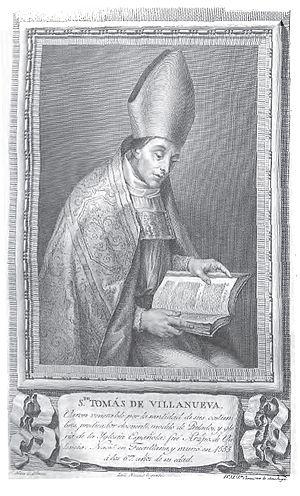 Tomás de Villanueva, Santo (1486-1555)