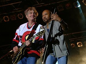 Tom Cochrane - Tom Cochrane (left), Ottawa 2003