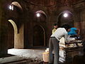 Tomb of Ghiyasuddin Tughlaq - Cleaning up the side tomb (3319035104).jpg