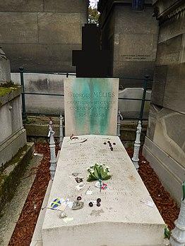 Tombe de Georges Melies (cimetière du Père Lachaise).JPG