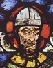 Stained glass portrait of Thomas Becket