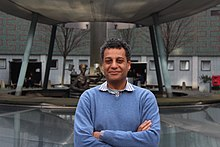 Tony Ageh at BBC Television Centre.JPG