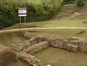 Tossa de Mar - Remains of the Roman villa of the Ametllers