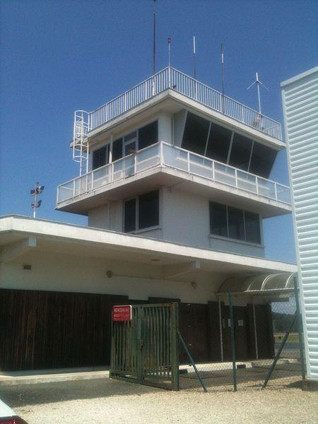 Tour de contrôle - Aéroport de Périgueux Bassillac