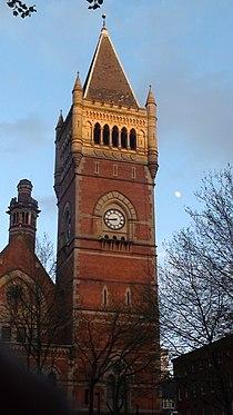Tower and chimney stack designed by Thomas Worthington.JPG