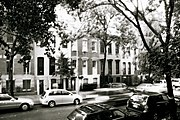 Traditional townhouses in the Turtle Bay neighborhood of New York City
