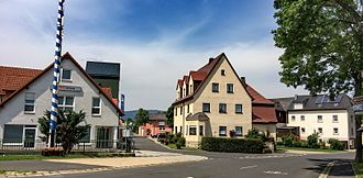 Tröstau - View from the center of the village