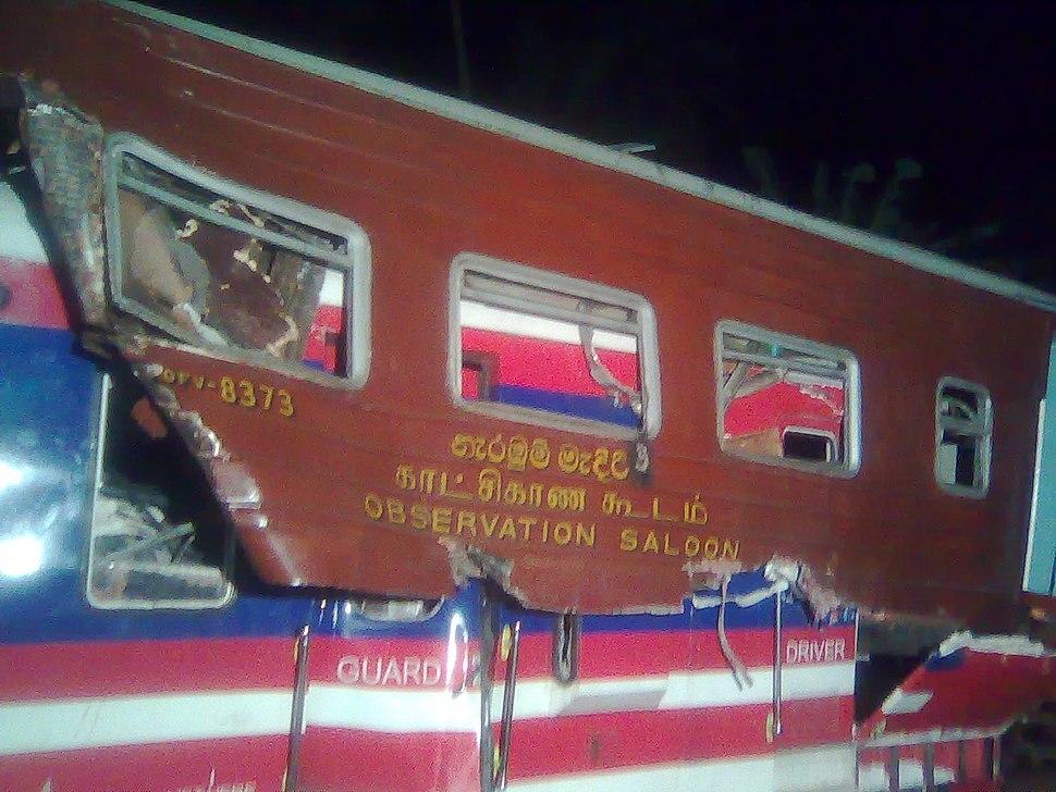 Train Collision Sri Lanka