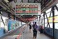 Train information display system at TRA Kaohsiung Station footbridge 20160330.jpg