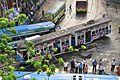 Tram - Dalhousie Square South-eastern Crossing - Kolkata 2016-06-02 4106.JPG