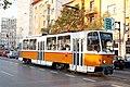 Tram in Sofia near Macedonia place 2012 PD 069.jpg