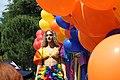 Trans activist Serafina during Albania Gay Pride.jpg