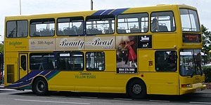 Yellow Buses - East Lancs Vyking bodied Volvo B7TL