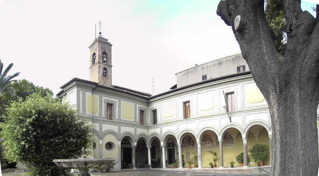 Trastevere - sant'Onofrio - chiostro esterno 3108-10.JPG
