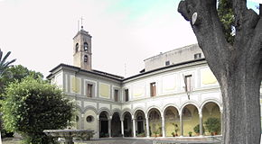 The Convent of Sant'Onofrio.