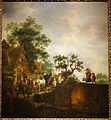 Travellers Halting at an Inn, by Isaak van Ostade, 1645, oil on panel - National Museum of Western Art, Tokyo - DSC08489.JPG