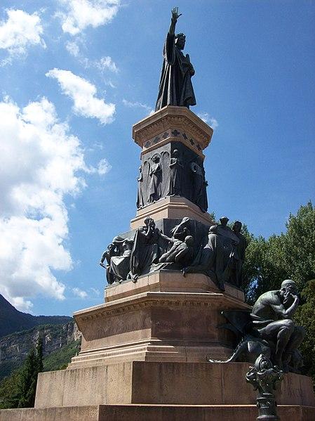 File:Trento - Statue of Dante.JPG