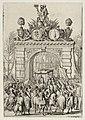 Triomfboog op de Westeinderbrug tijdens de intocht van Willem III in Den Haag. NL-HlmNHA 53008712.JPG