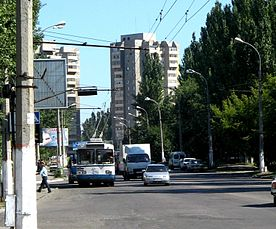 Trolleybus in Herson - 001.jpg