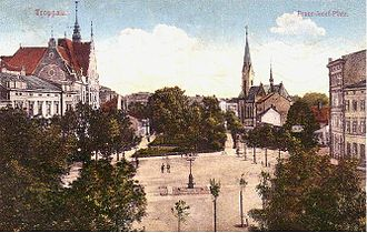 Opava - Opava in 1900