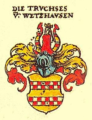 Martin Truchseß von Wetzhausen - Coat of Arms of the Family Truchseß von Wetzhausen