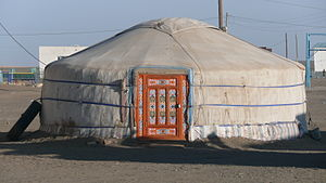 Yurt, Centre of the Tsogttsetsii sum (district...