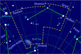Image illustrative de l'article Toucan (constellation)
