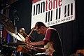 Tulivu-Donna Cumberbatch Quartet - INNtöne Jazzfestival 2013 07 Mark Johnson Rachiim Ausar Sahu.jpg