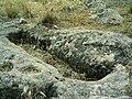Tumba antropomórfica, Villaverde, Carrascosa del Campo, España - 20060619.jpg