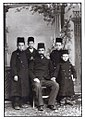 Turk and Four boys in Kastoria by Leonidas Papazoglou.jpg