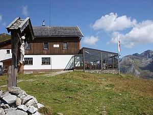 The Tuxerjochhaus in September 2008