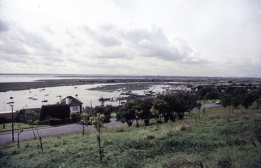 Two-Tree Island from Belton Hills, Leigh-on-Sea - geograph.org.uk - 1520784