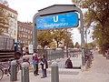 U-Bahn Berlin U2 Senefelderplatz.JPG