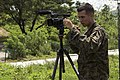 U.S. Marine Corps Pfc. Joshua E. Chacon, a combat videographer with Marine Corps Installations Pacific Combat Camera, documents Marines with Combat Logistics Regiment 35, 3rd Marine Logistics Group beginning 140925-M-RN526-024.jpg
