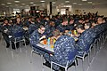 U.S. Navy recruits eat lunch in the galley of the USS Triton Barracks at Recruit Training Command at Naval Station Great Lakes, Ill., Oct. 31, 2012 121031-N-IK959-336.jpg