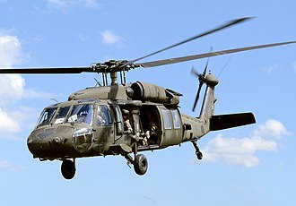 Sikorsky UH-60 Black Hawk - A UH-60 Black Hawk from the 2nd Cavalry Regiment of United States Army Europe.