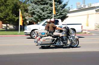 Utah Highway Patrol - Two UHP motorcycles
