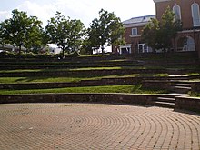 The Nyumburu Amphitheater Hosts Numerous Outdoor Performances And Is Located Immediately Next To Stamp Seen In Background Atrium Of Student Union
