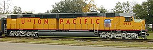 Union Pacific 6936 - UP 6936 as it appeared prior to the collision.