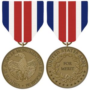 Certificate of Merit Medal - Image: USA Certificate of Merit Medal
