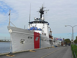 USCGC Diligence (WMEC-616) - The Diligence docked at her home port in Wilmington, North Carolina