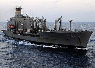 USNS <i>Leroy Grumman</i> (T-AO-195) Henry J. Kaiser-class fleet replenishment oiler of the US Navy