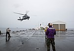 USNS Mercy transports injured people from Papua New Guinea to ship for emergency care during Pacific Partnership 2015 150630-M-DN141-519.jpg