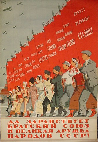 Republics of the Soviet Union - Image: USSR Republics Poster