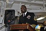 USS Arlington Black History Month celebration 150224-N-GG458-032.jpg