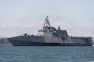 USS <i>Charleston</i> (LCS-18) Littoral combat ship of the United States Navy