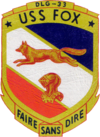 USS Fox (DLG-33) insignia, in 1965.png