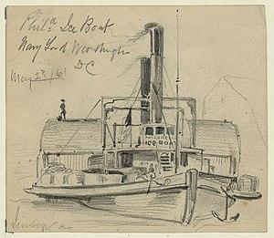 USS Ice Boat (1861) - Image: USS Ice Boat 1861