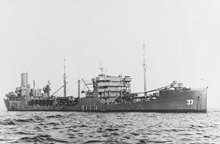 USS <i>Merrimack</i> (AO-37) Kennebec-class fleet oilers built during World War II